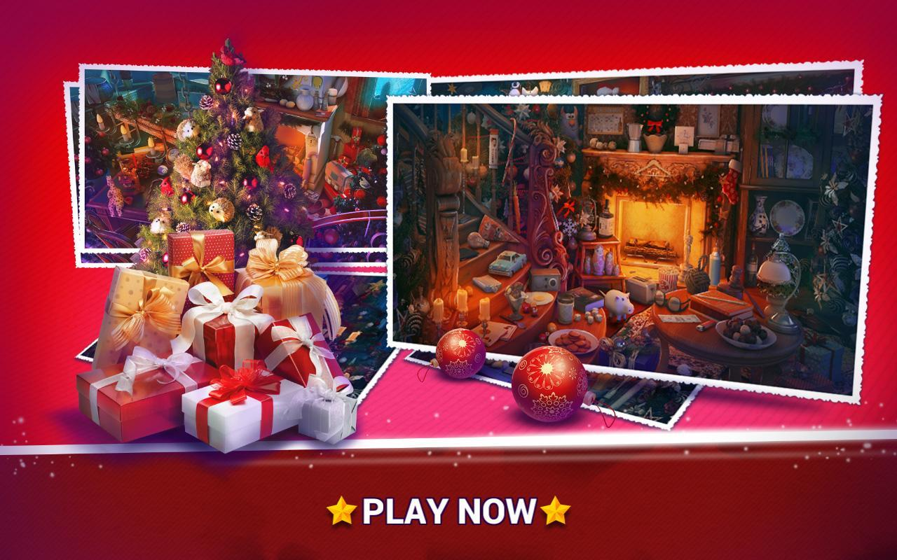 4-Hidden Objects Christmas – Holiday Puzzle Game