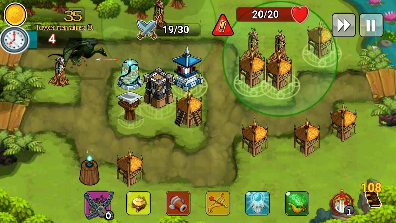 3-Tower Defense Of The King: Free TD