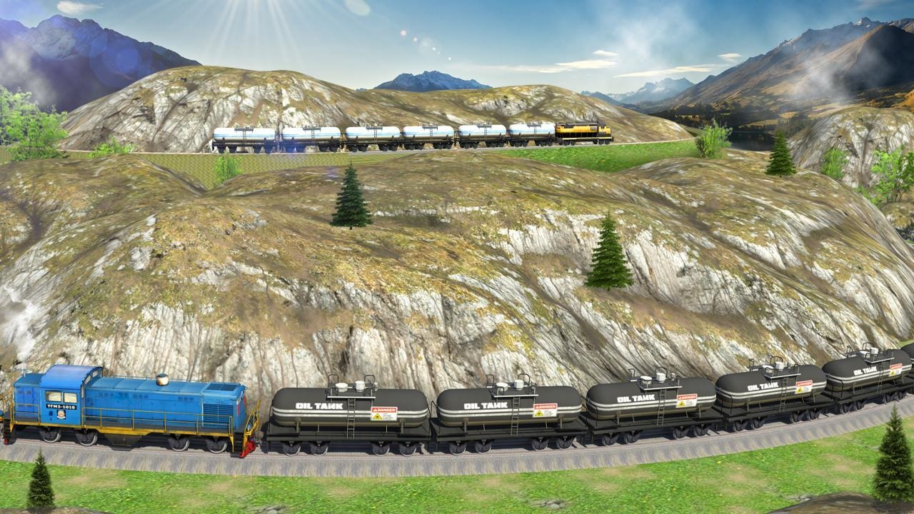 2-Oil Tanker Train Simulator