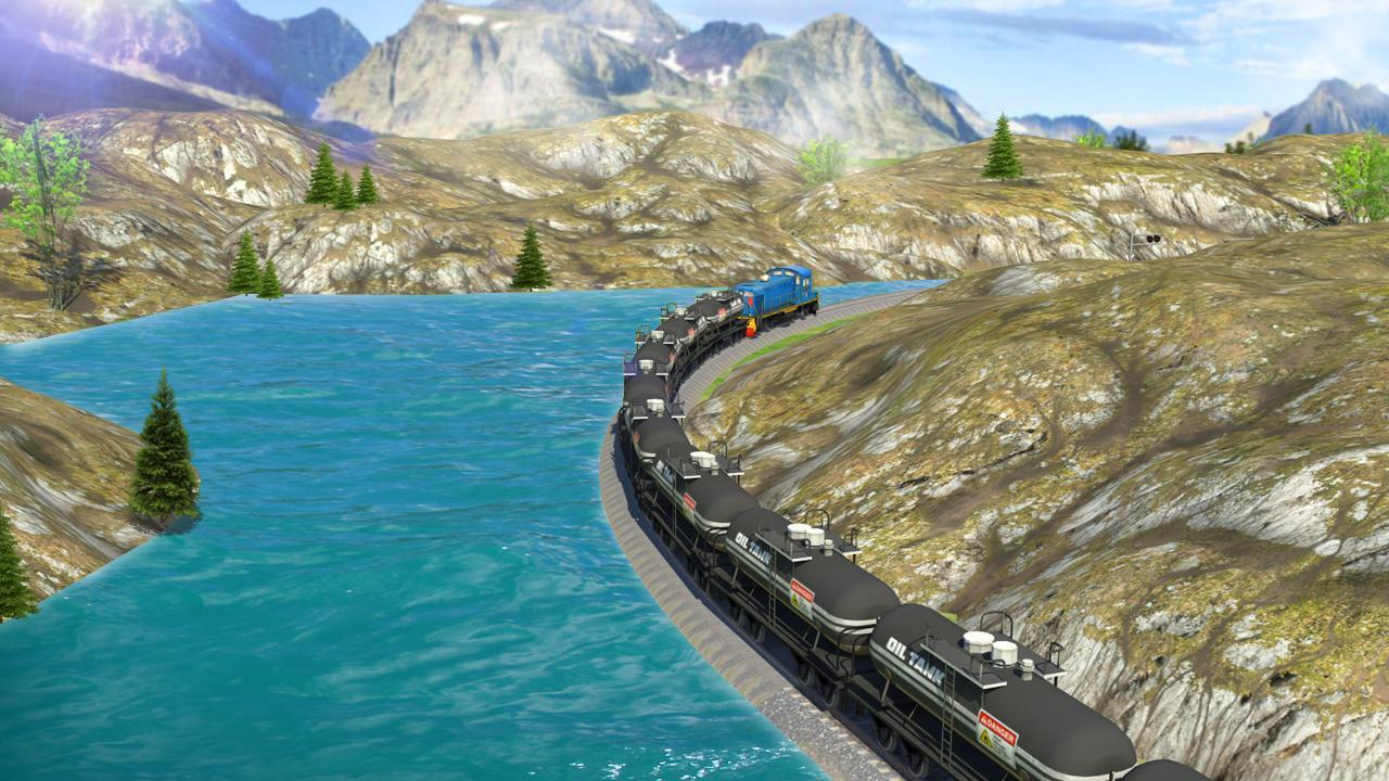 3-Oil Tanker Train Simulator
