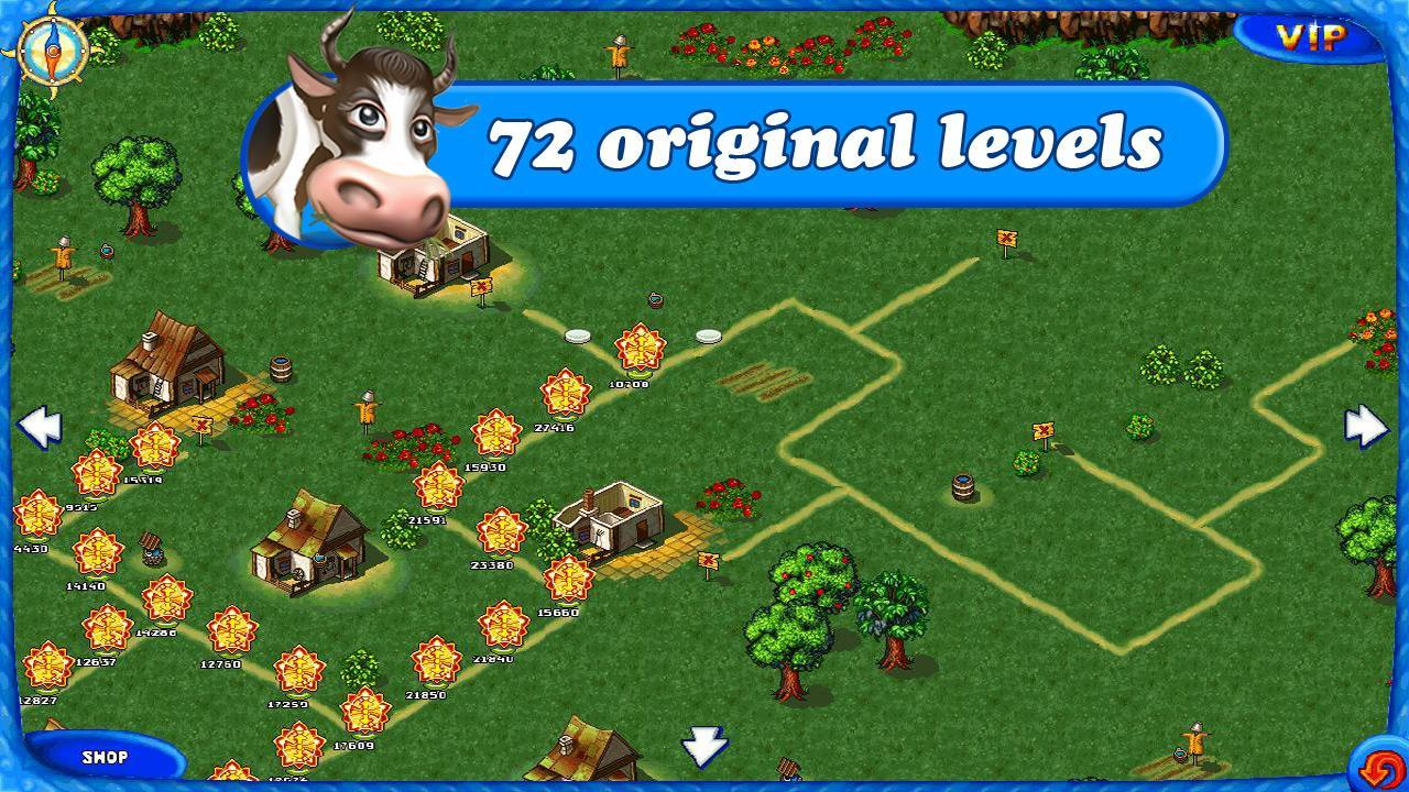 4-Farm Frenzy Free: Time management game
