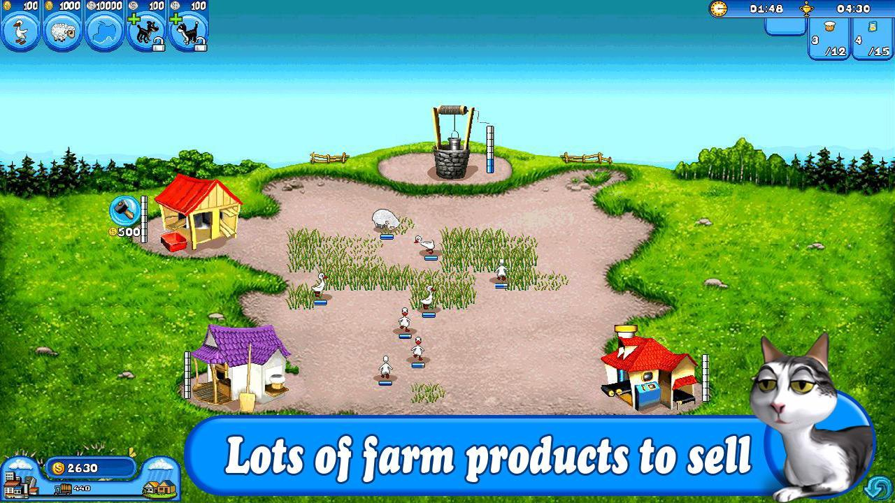 5-Farm Frenzy Free: Time management game