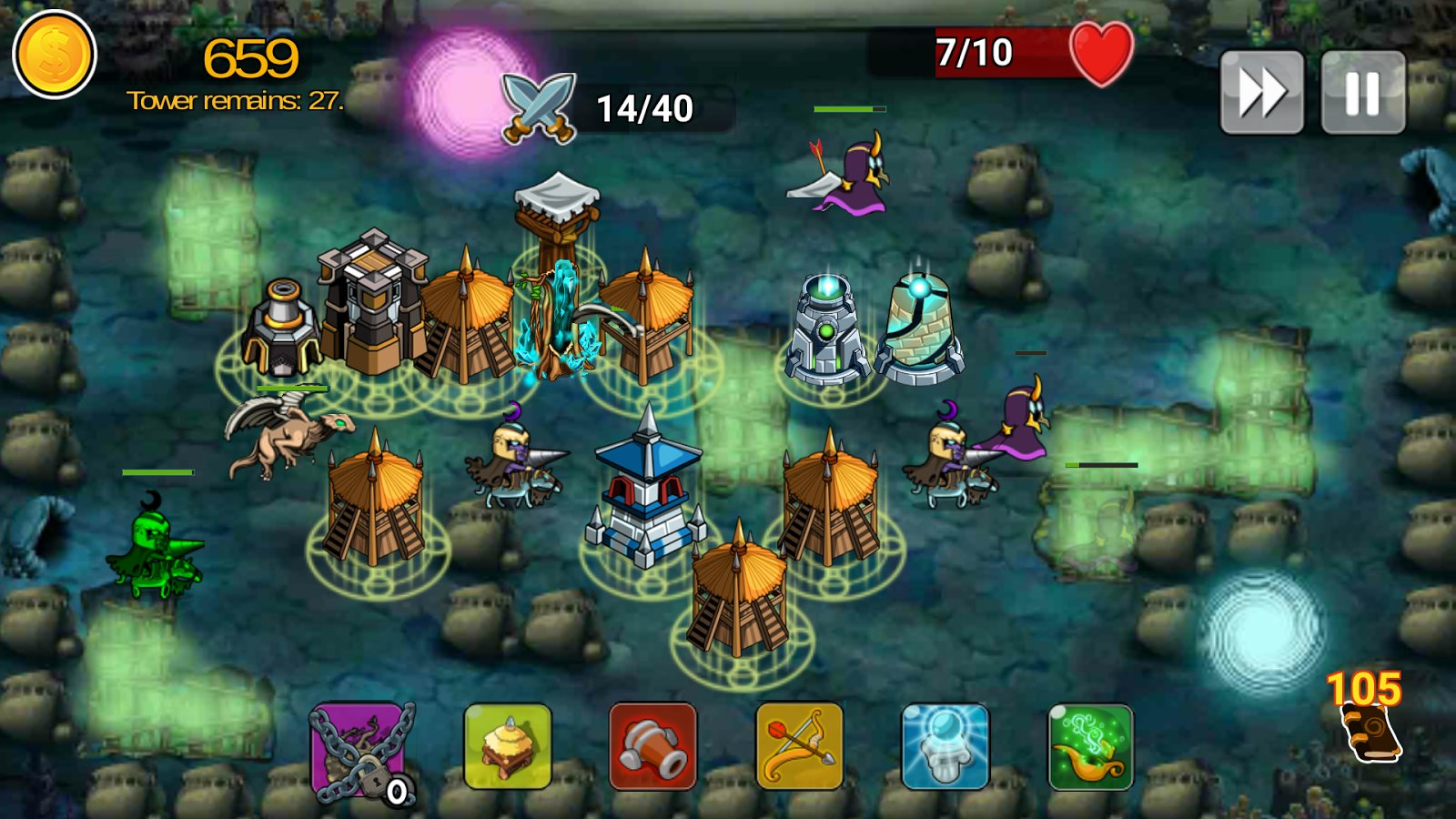 2-Tower Defense Of The King: Free TD