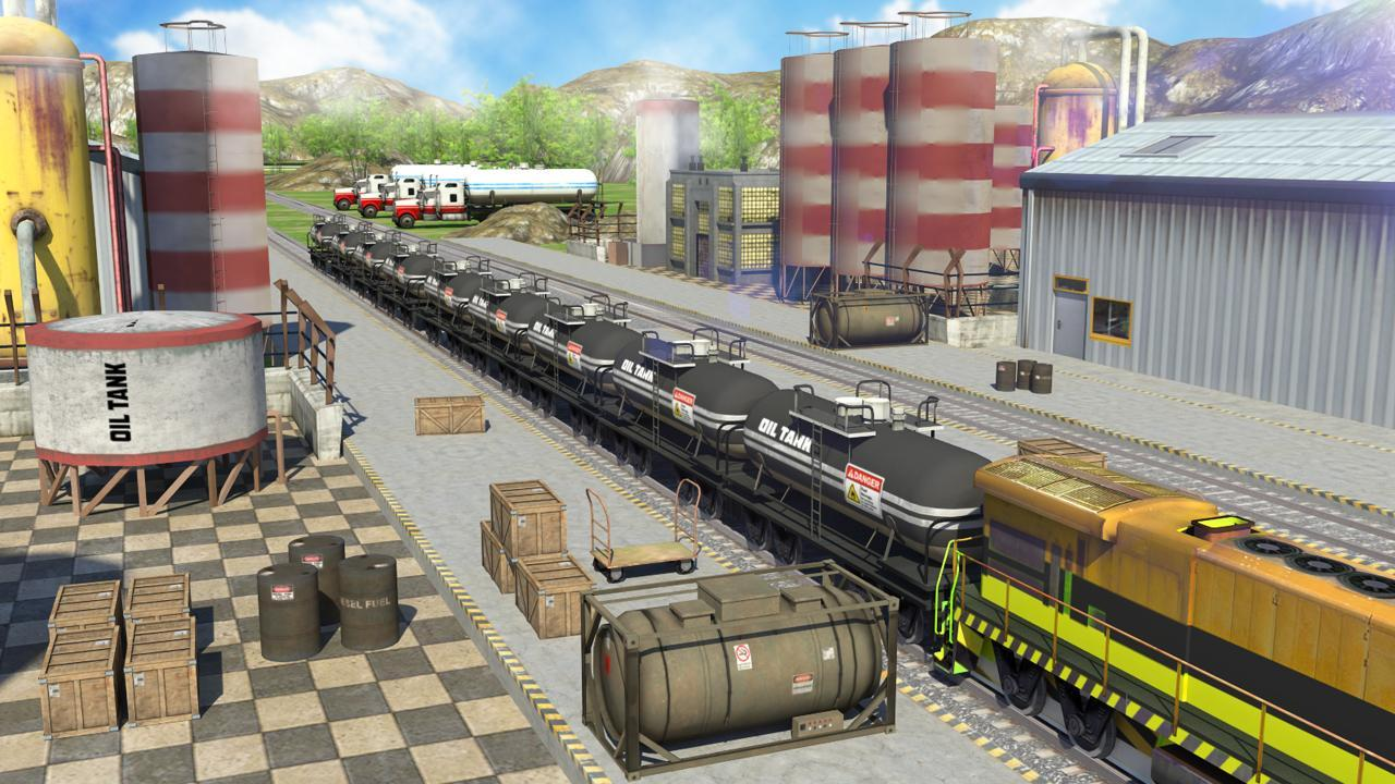 1-Oil Tanker Train Simulator