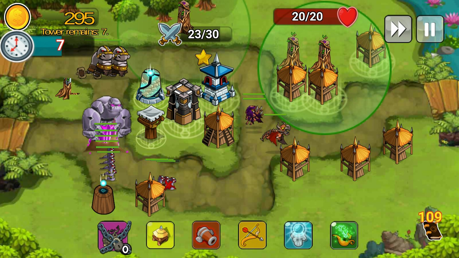 1-Tower Defense Of The King: Free TD