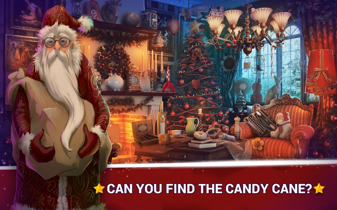 1-Hidden Objects Christmas – Holiday Puzzle Game