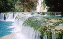 Minas Viejas Waterfalls Mexico