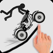 Stickman Racer Road Draw