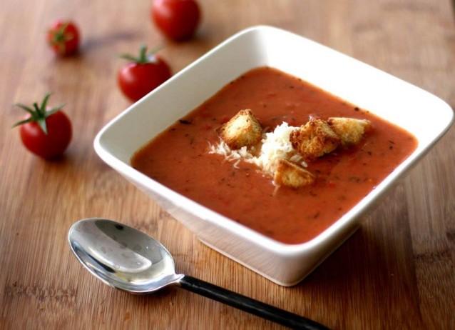 KƏklikotulu Pomidor Şorbası