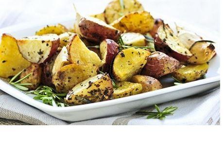 Mərakeş Üsulu Kartof
