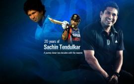 20 Years of Sachin  Tendulkar