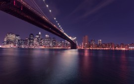 Brooklyn Bridge Manhattan...