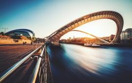 Gateshead Millennium Bridge UK