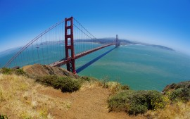 Golden Gate bridge, San...