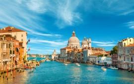 Grand Canal Venice Italy 4K