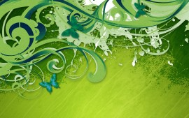 Green Vector HDTV