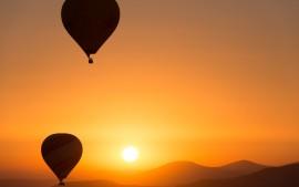 Hot Air Ballons Sunrise