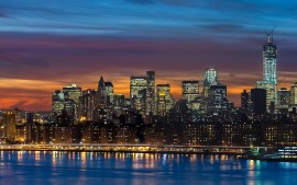 Manhattan Skyline New York...
